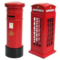 ロンドン貯金箱